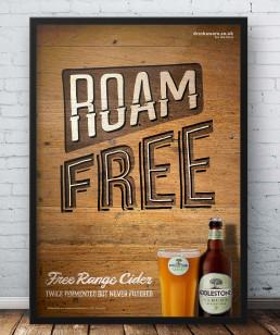 poster mockup ad